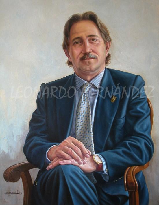 Retrato de D. Manuel Delgado Perea
