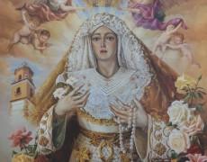 CARTEL CORONACIÓN MARÍA DE LA O