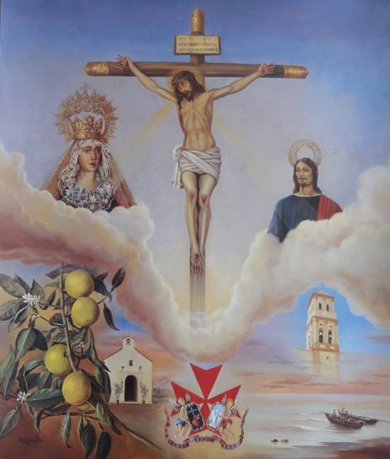 CARTEL CRISTO DEL AMOR MARBELLA