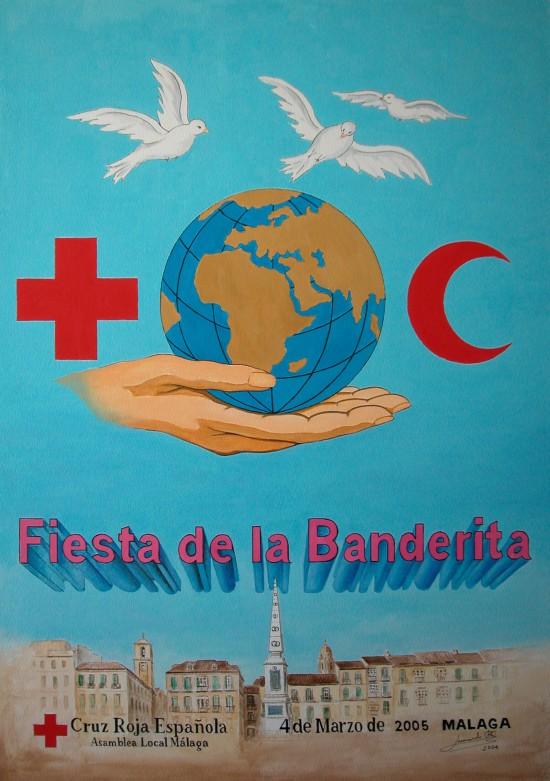 Fiesta de la Banderita Cruz Roja Málaga 2005