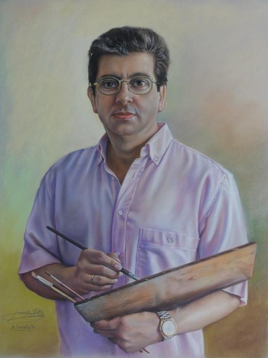 Autorretrato: Leonardo Fernández González