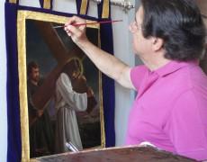 Restauración de Estandartes de las cofradías malagueñas