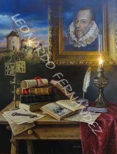 Homenaje a Cervantes - Leonardo Fernández González