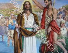 Presentación Obra Bautismo de Cristo para Álora