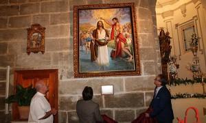 Presentación Obra Bautismo de Jesús en Álora.