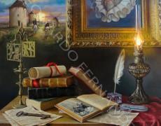 Cervantes, Lámina 45 x 32 cm