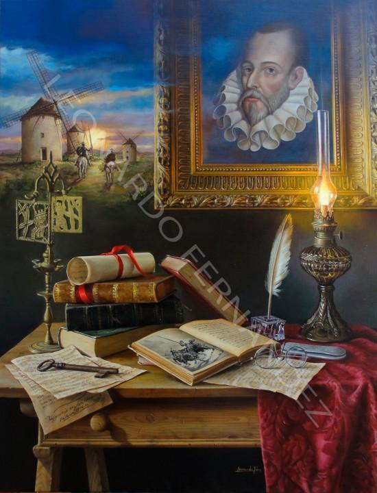 Lámina Cervantes